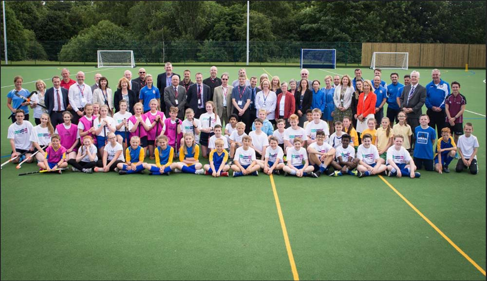 Opening and Blessing Of The New Hockey Pitch