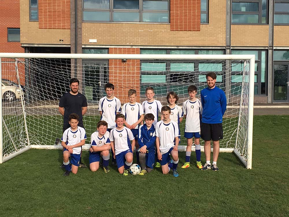 Year 7 Town Football Champions
