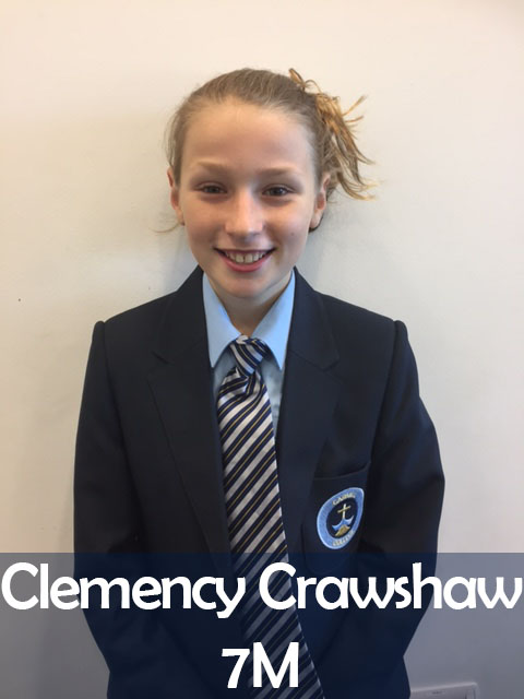 Clemency Crawshaw 7M
