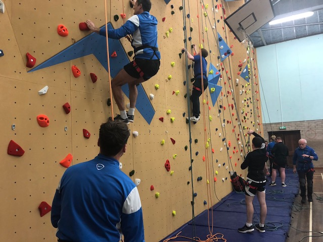 Climbing Wall 4