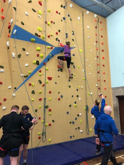 Climbing Wall 7