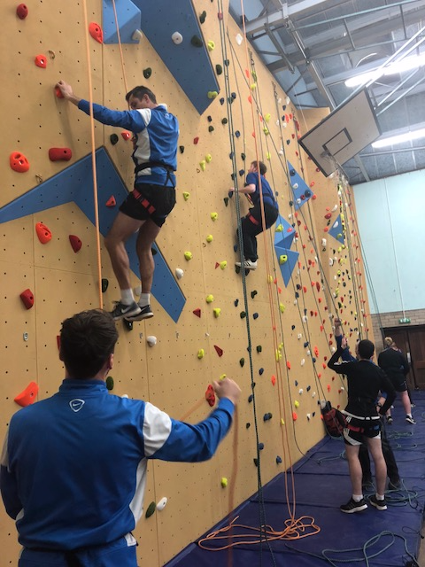 Climbing Wall 8