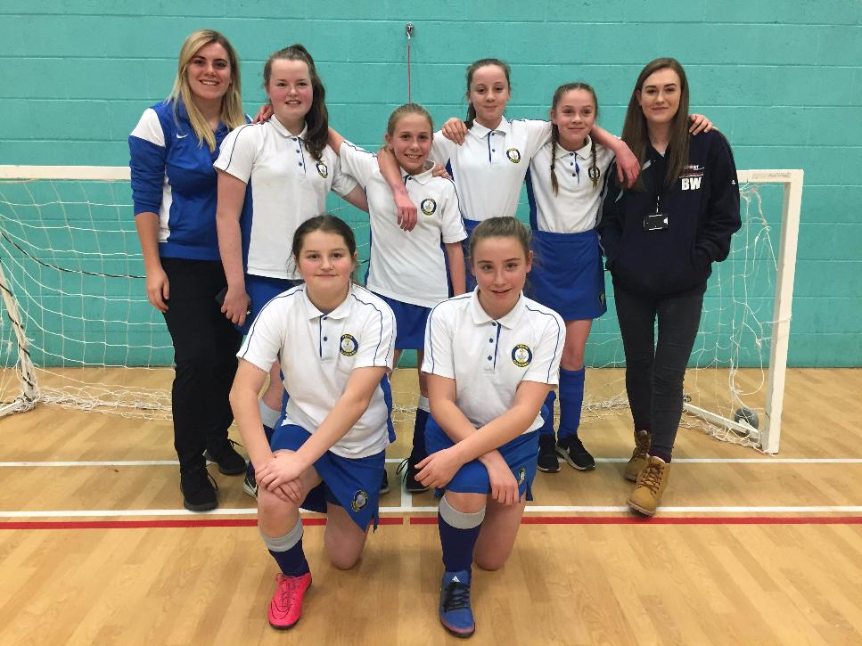 Year 7 Girls Darlington 5-a-side Football Winners