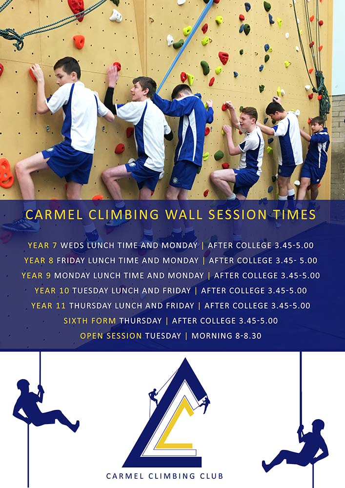 Climbing Sessions Poster