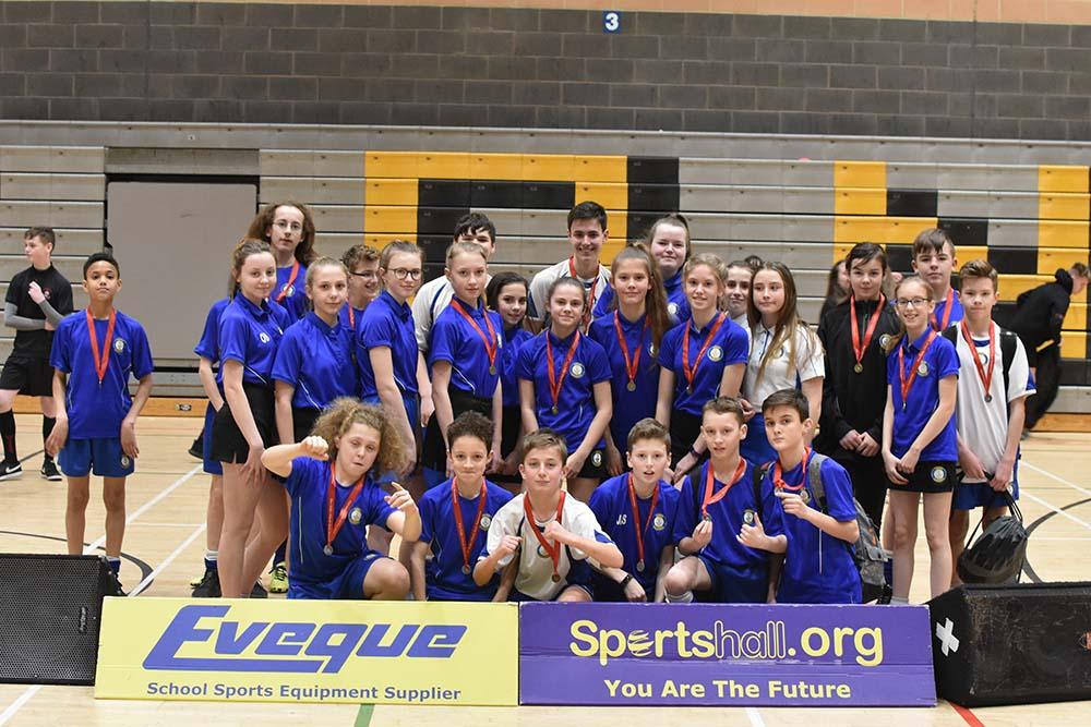Year 7 Girls Sportshall